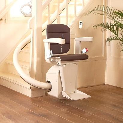 Freecurve Single Rail Stairlift